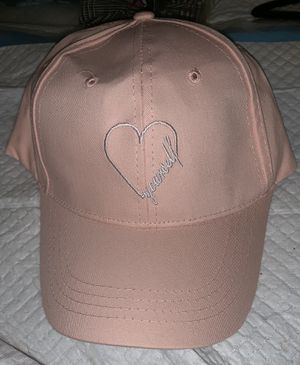 """""""Love Yourself """" Pink Embroidered Baseball Cap Hat for Sale in Raleigh, NC"""