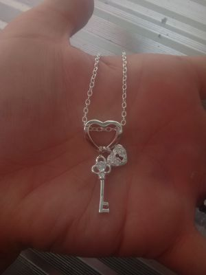 925 Key & Lock ChaRM NeCkLaCe for Sale in Bountiful, UT