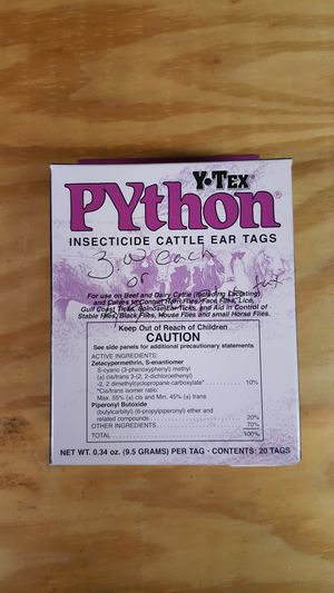 Cattle ear tags (Insecticide) for Sale in Cove City, NC