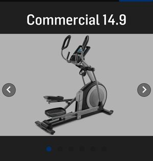 Commercial 14.9 Nordictrack elliptical for Sale in Little Falls, NJ