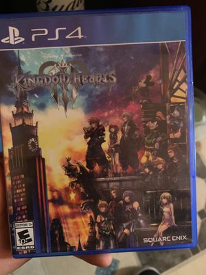 Kingdom hearts 3 ps4 for Sale in Daly City, CA