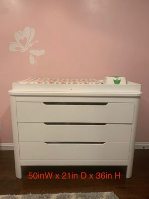 Removable Changing Table and Drawers for Sale in Burbank, CA