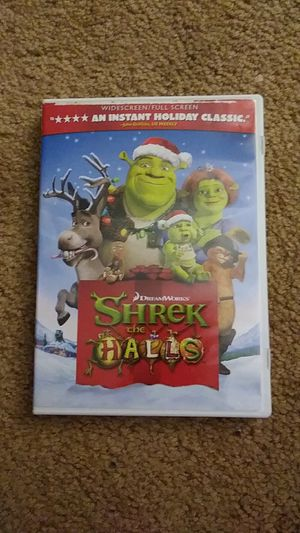SHREK the Halls DVD for Sale in Van Buren Charter Township, MI