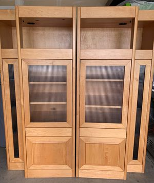 All wood Media stands/bookshelves for Sale in Lombard, IL