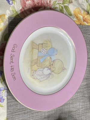 Precious moment plate for Sale in McKinney, TX
