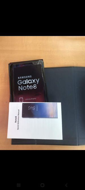 New Samsung Galaxy Note 8, 64GB Unlocked phone for Sale in Queens, NY