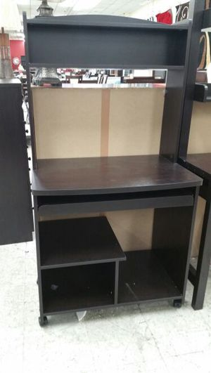 Computer desk espresso for Sale in Las Vegas, NV
