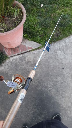 Shakespeare rod and fishing reel for Sale in Downey, CA