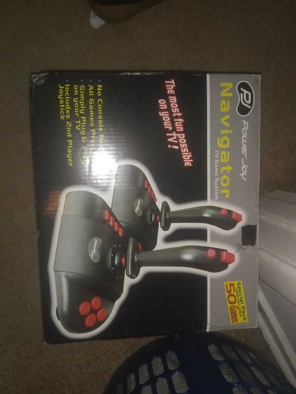 Power joy navigator tv game system