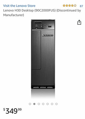 Lenovo H30 desktop computer for Sale in Santa Ana, CA