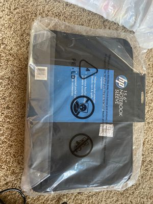 HP 15.6 notebook sleeve - brand new for Sale in Turlock, CA