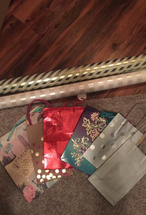 Assorted Gift Bags and Wrapping Paper for Sale in Austin, TX
