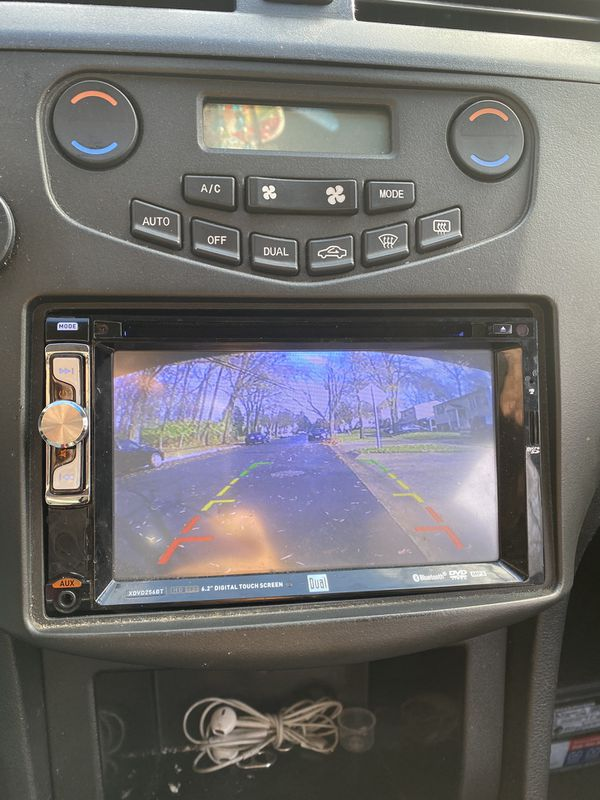 Dual Double Din With Bluetooth Music