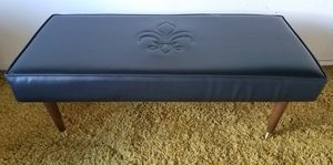 Vintage Mid Century 1960's Black Bench for Sale in Walnut Creek, CA