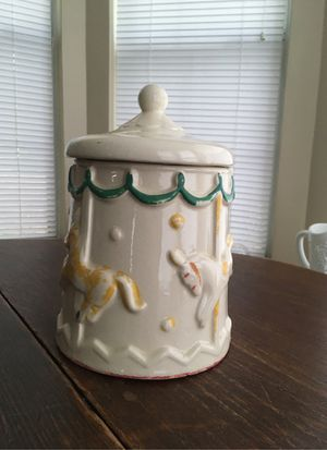 carousel cookie jar for Sale in Tyler, TX