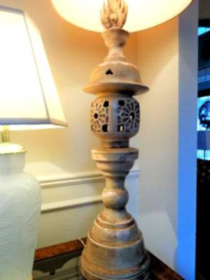 Beautiful dimple lamp for Sale in Hensley, AR