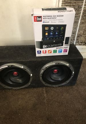 Tv radio and kenwood car speaker for Sale in Durham, NC