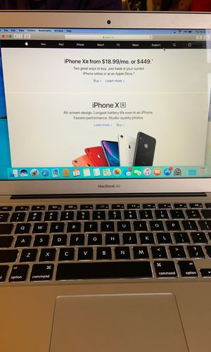 Brand new MacBook Air year-2017 comes with all accessories for Sale in Springfield, VA
