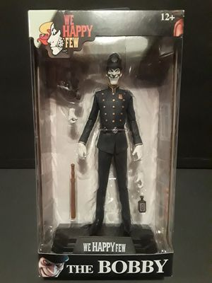 We Happy Few The Bobby 6 inch action figure. for Sale in Gresham, OR