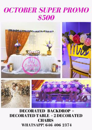 Rent accesories for Wedding, baptism or other event for Sale in Bradenton, FL
