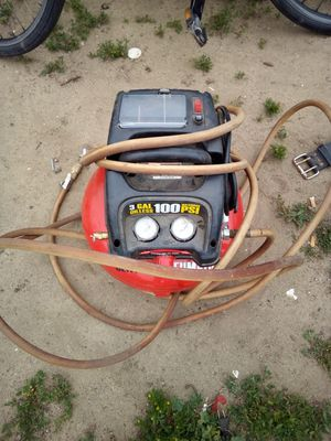 Air compressor and toolbags for Sale in Modesto, CA