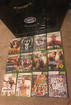 Xbox 360 games for Sale in Glendale, AZ