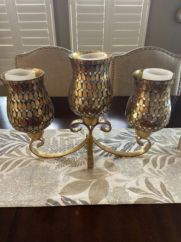 Table candle decor