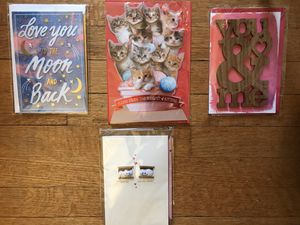 Lot of four 3D Valentines cards (H) for Sale in Takoma Park, MD