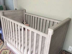 Pottery Barn Rory Convertible Crib + Toddler Conversion + Mattress for Sale in West Palm Beach, FL