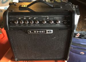 1/3 Line 6 Spider V 20 MKII Combo Amplifier for Sale in Clayton, NJ