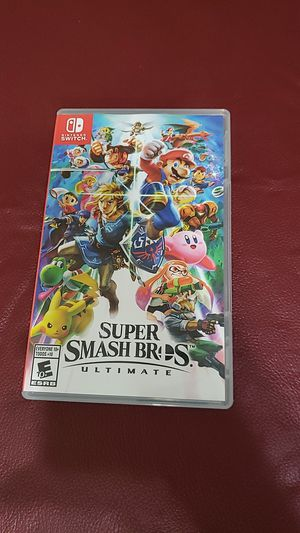 Super Smash Bros Ultimate for Nintendo Switch for Sale in Fort Worth, TX