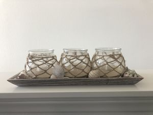 Beach decor, shells and candles for Sale in Ontario, CA