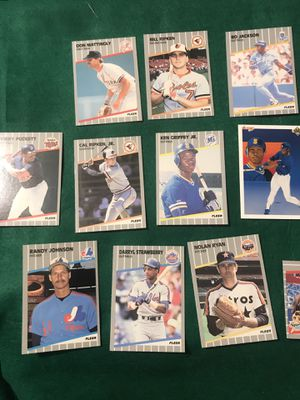 1989 Fleer Baseball cards like new for Sale in Murfreesboro, TN