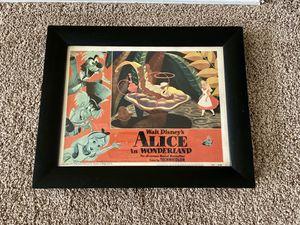 Walt Disney Alice In Wonderland Lobby Poster Card for Sale in Tooele, UT