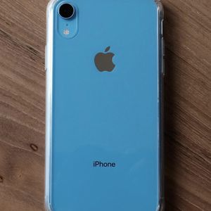 Unlocked iPhone XR Blue 64GB for Sale in Providence, RI