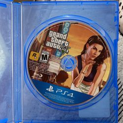 GTA V (Grand theft Auto 5) PS4 for Sale in San Diego,  CA