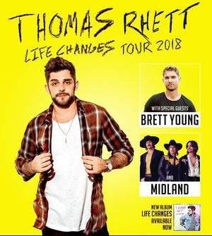 Thomas Rhett Life Changes Tickets for Sale in Fort Wayne, IN
