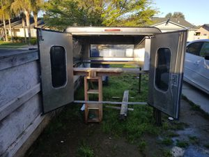 Camper shell for truck for Sale in Reedley, CA