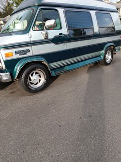 94 Chev High Top Conversion Van 57000 Actual miles Runs Drives Great for Sale in Tacoma,  WA