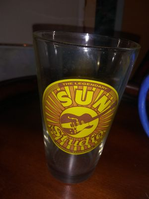Elvis, SUN STUDIO COLLECTABLE DRINKING GLASS. for Sale in Spring Hill, FL