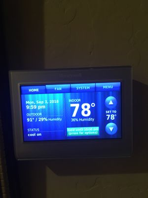 Honeywell (Wi-Fi enabled) thermostat for Sale in Phoenix, AZ