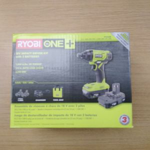 Ryobi One P235ak-1/4 In Impact Driver W 2 Batteries Brand New Sealed for Sale in Boca Raton, FL