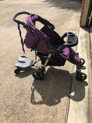Joovy stroller with scooter attachment for Sale in Saginaw, TX