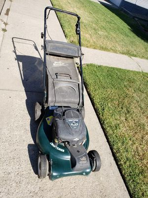 craftsman lawn mower. trade for chainsaw for Sale in Valley Home, CA