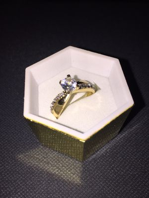 Cubic zirconia gold rings for Sale in San Jose, CA