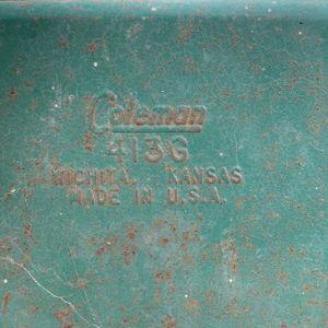 Vintage 413 G 2 Burner Stove White Gas for Sale in Fresno, CA