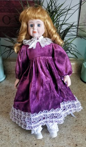 Porcelin Doll. Like June's Online Consignment Shop on Facebook for Sale in Neenah, WI