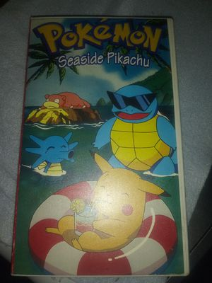 Pokemon seaside pikachu vhs for Sale in El Monte, CA