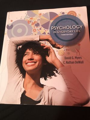 Psychology Textboox for Sale in Las Vegas, NV