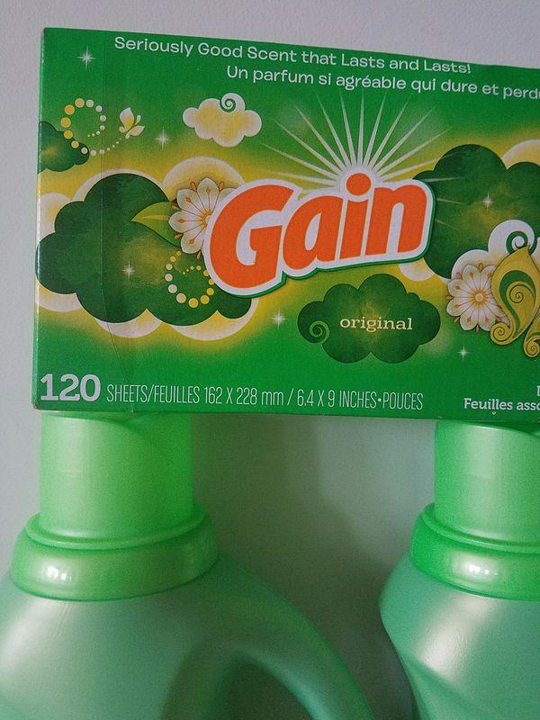 Gain laundry detergent bundle - $20 price firm